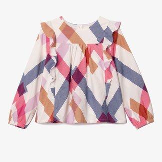 CATIMINI Girl long sleeve blouse