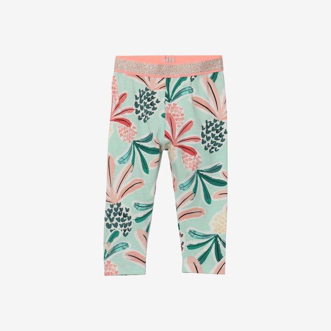 CATIMINI Baby girl pineapple printed leggings