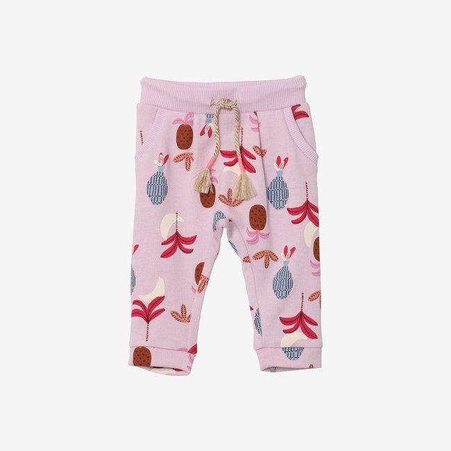 CATIMINI Baby girl pineapple lilac joggers