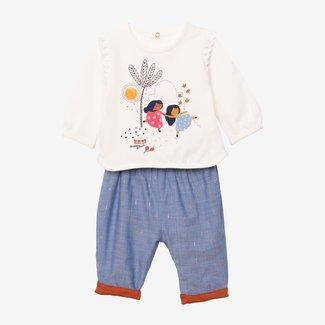CATIMINI Baby girl 2-piece pants set