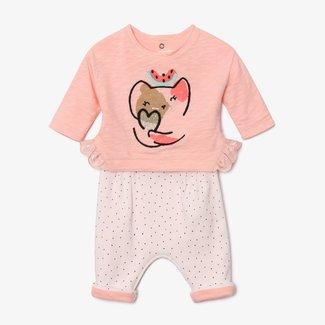 CATIMINI Baby girl 2-piece leggings set
