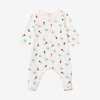CATIMINI Baby boy printed footie pajama