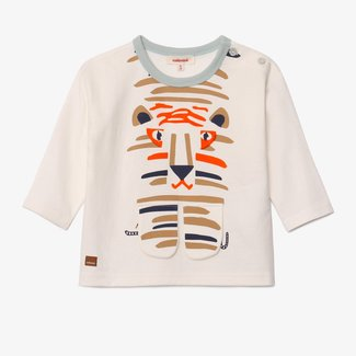 CATIMINI Baby boy off white tiger T-shirt