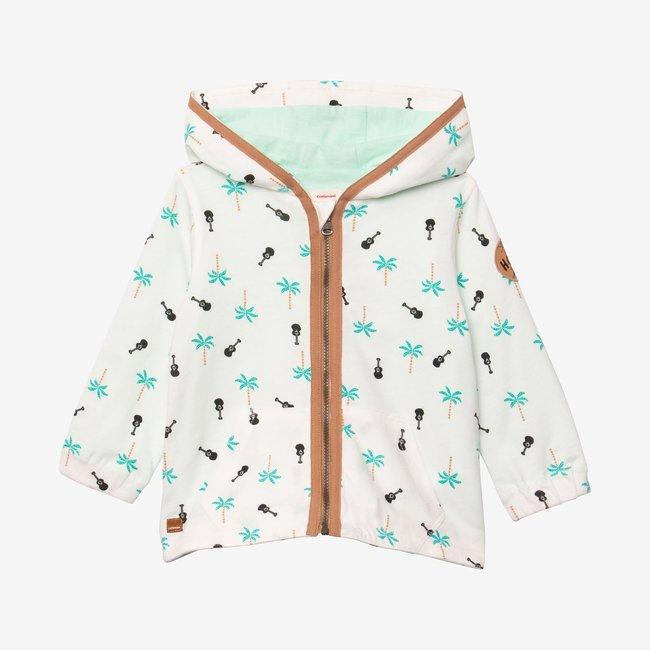 CATIMINI Baby boy hooded zipped cardigan