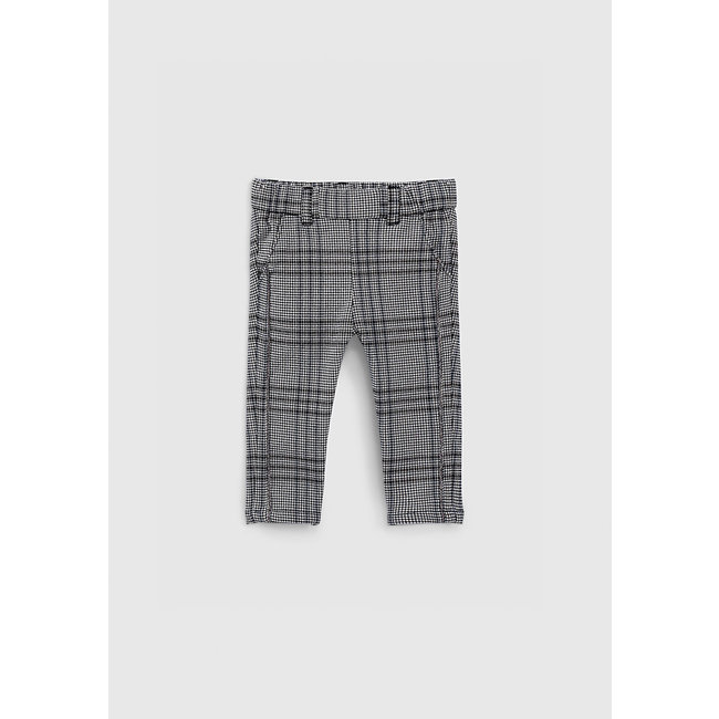 IKKS Baby girls' black Prince-of-Wales trousers