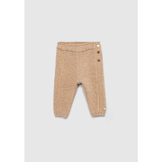 IKKS Baby girls' beige marl lurex knit treggings
