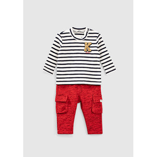 IKKS Baby boys' sailor top and combat trousers outfit