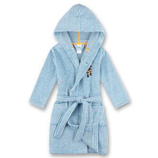 SANETTA Boys bathrobe blue