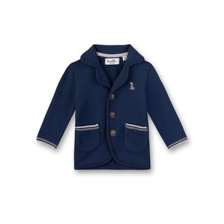 SANETTA Boys sweat jacket deep blue dog