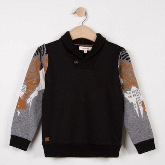 NEO CAMOUFLAGE JACQUARD KNIT SWEATER