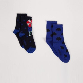 FANCY CLOUD SOCKS (PACK OF 2)
