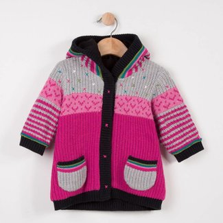 JACKET IN MULTICOLOURED JACQUARD