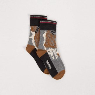 JACQUARD CITY SOCKS