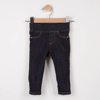 KNIT RAW DENIM TREGGINGS