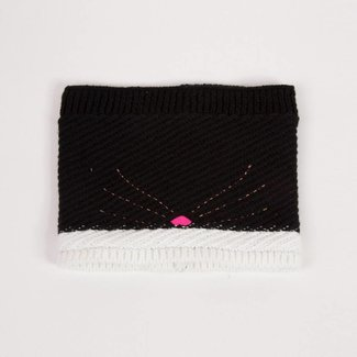 KNITTED CAT HEAD SNOOD