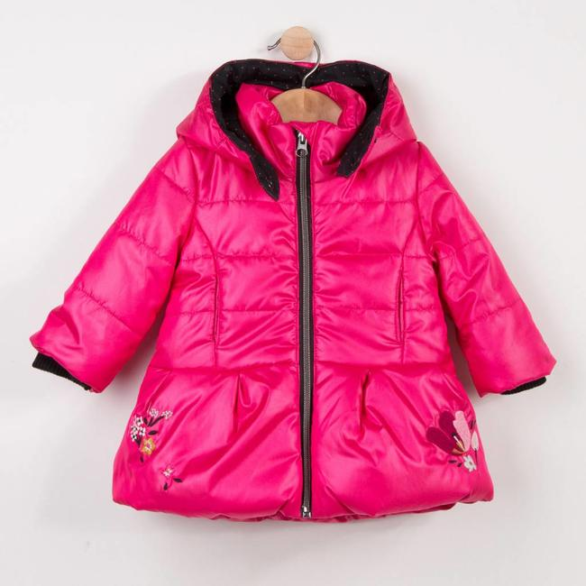 PEARLY PEONY PINK COATED PARKA