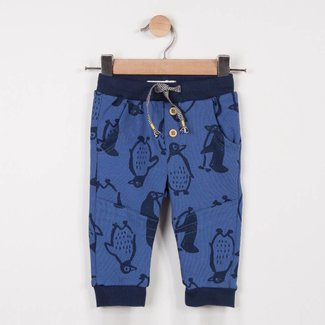 PENGUIN PRINT FLEECE JOGGING PANTS