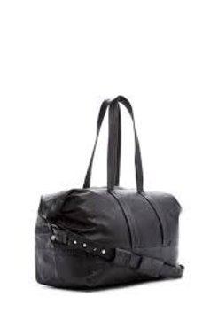 Junk de Luxe Leather Weekender Bag