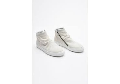 Junk de Luxe Crinkled look suede trainers Style: 60-91204