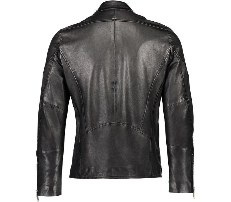 Leather rider jacket Style: 60-15202