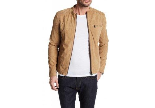 Lindbergh Suede biker jacket Style: 30-10044