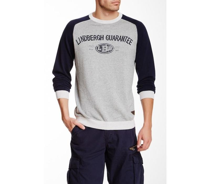 Raglan college sweater Style: 30-85031