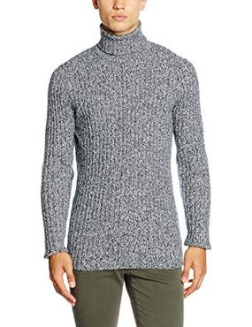 Lindbergh Roll-Neck Rib Knit