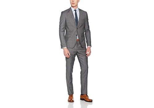 Lindbergh Checked Men's Suit