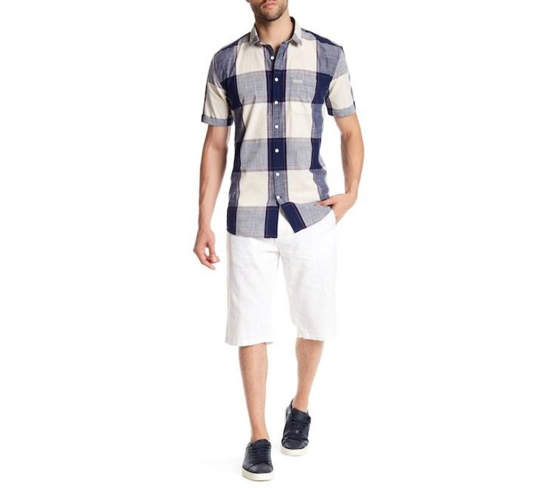 Baggy Linen Shorts Style: 30-54014