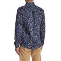 Floral Print Shirt L/S Style: 30-21092