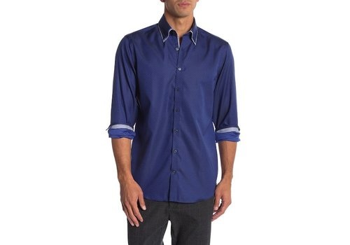 Lindbergh Shirt W. Collar Detail and Double Collar L/S