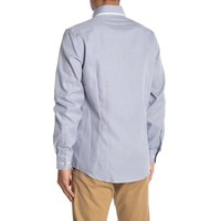 Double collar stretch structure shirt
