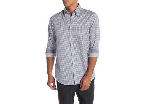Lindbergh Double Collar Classic Checked Shirt