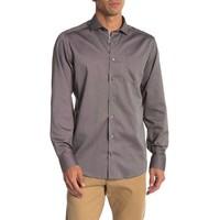 Piqué woven shirt