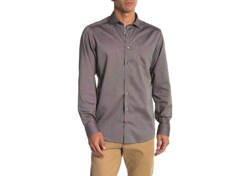 JACK'S Piqué Woven Shirt L/S