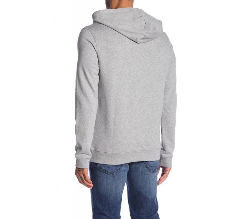 Hooded organic cotton sweat