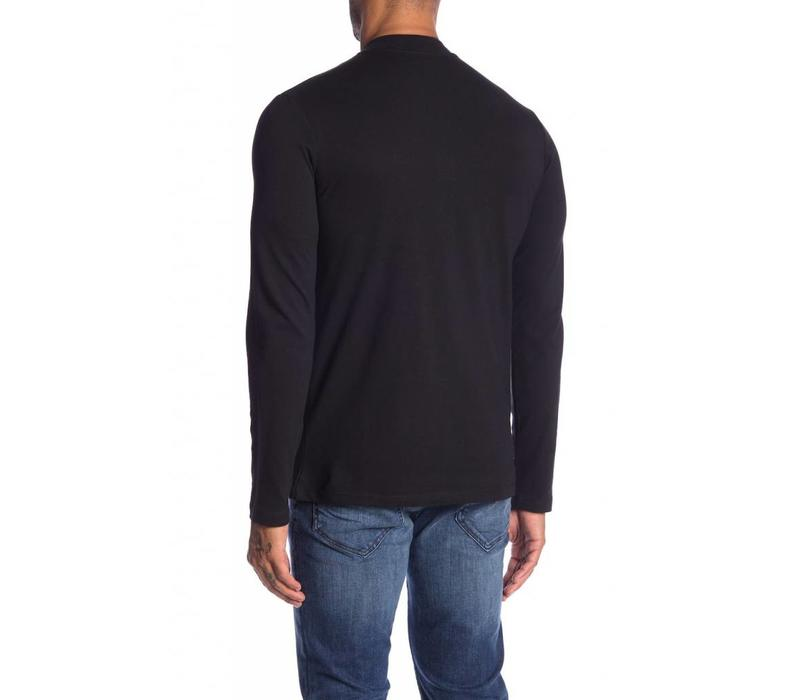Turtle Neck  Zip L/S