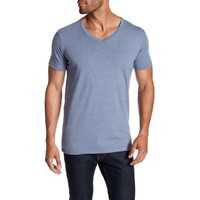 Men's stretch v-neck tee