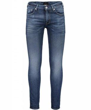 Junk de Luxe Heavy Twill Skinny Jeans - Indigo