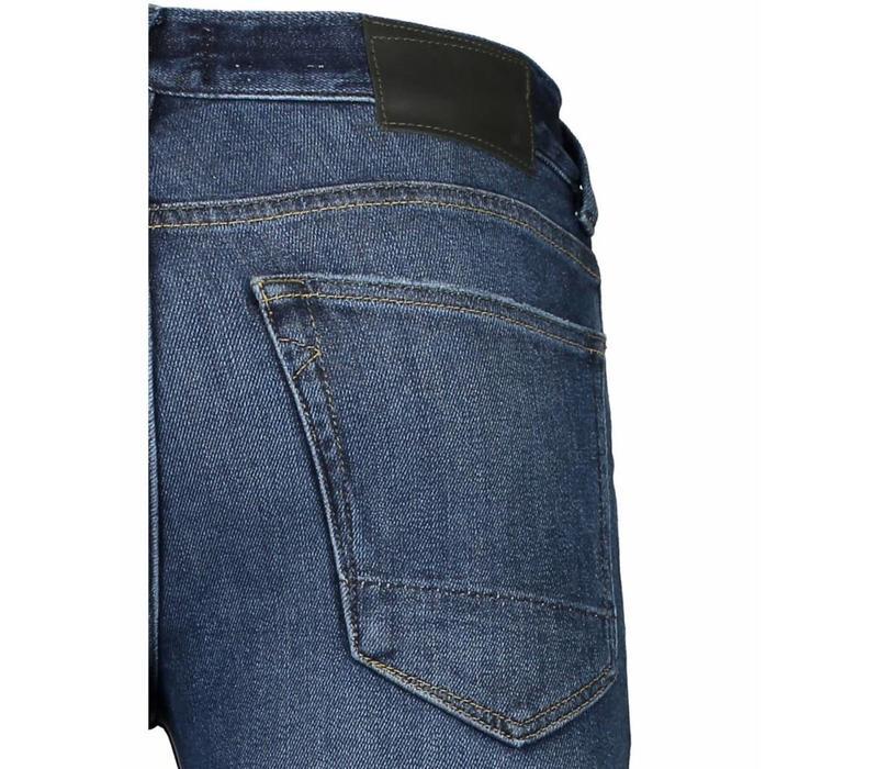 Heavy Twill Skinny Jeans - Indigo Style: 60-02512
