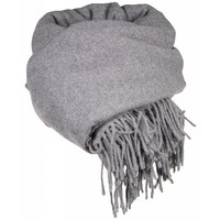 Boiled wool scarf