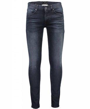 Junk de Luxe Shadow indigo skinny jeans