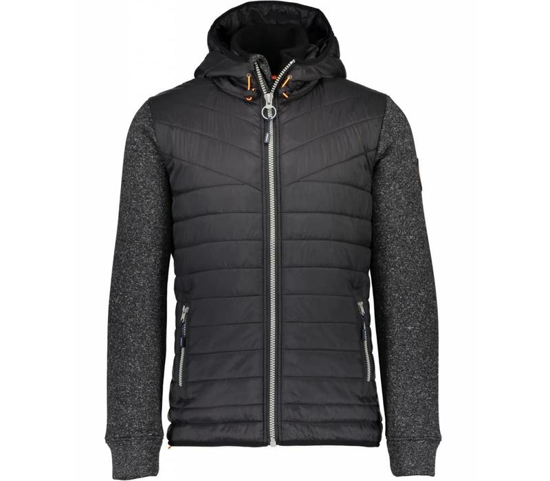 Quilted Jacket W.  Knit Sleeves Style: 30-34335