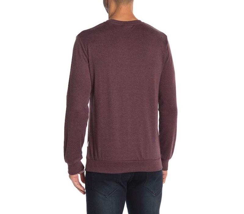 Sweatshirt w. neck detail