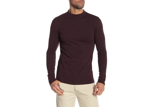 Lindbergh Low Turtle-Neck Tee L/S