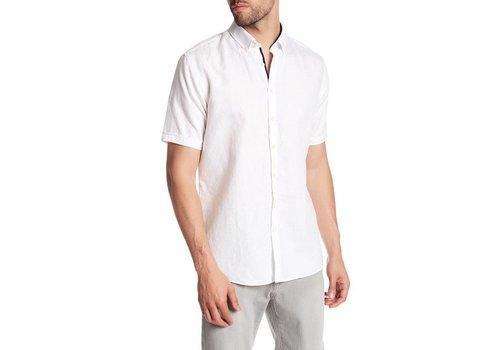 Lindbergh Cotton Linen Shirt S/S
