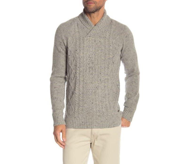 Shawl Neck-Nep Knit: 30-85166