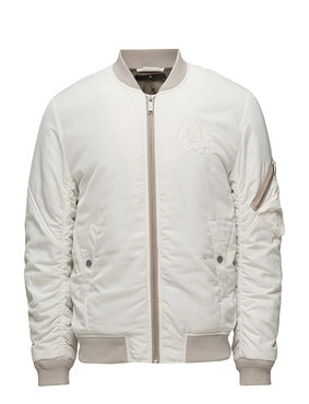 Junk de Luxe Embroidered Bomber Jacket