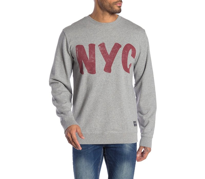 NYC Print Sweater: 30-70104