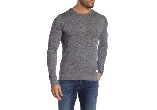 Lindbergh Mouliné Knit W. O-Neck